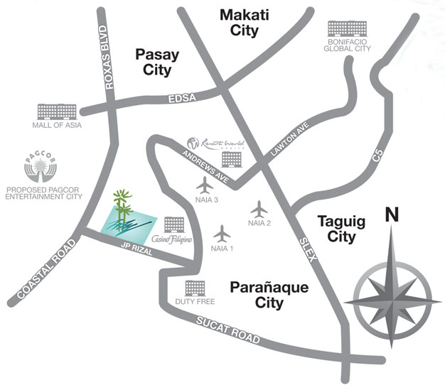 Arista Place Location Map
