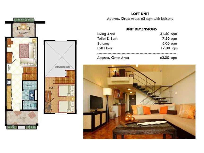 Studio Inner Unit Loft