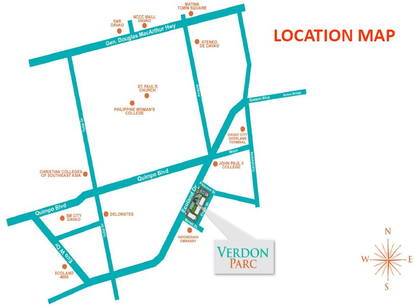 Verdon Parc Location Map