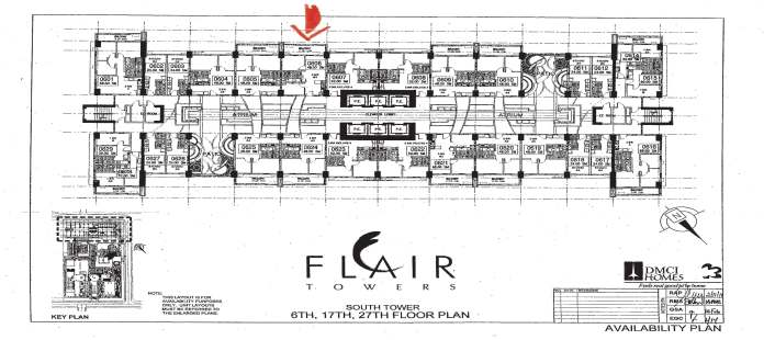 27th Floor Plan