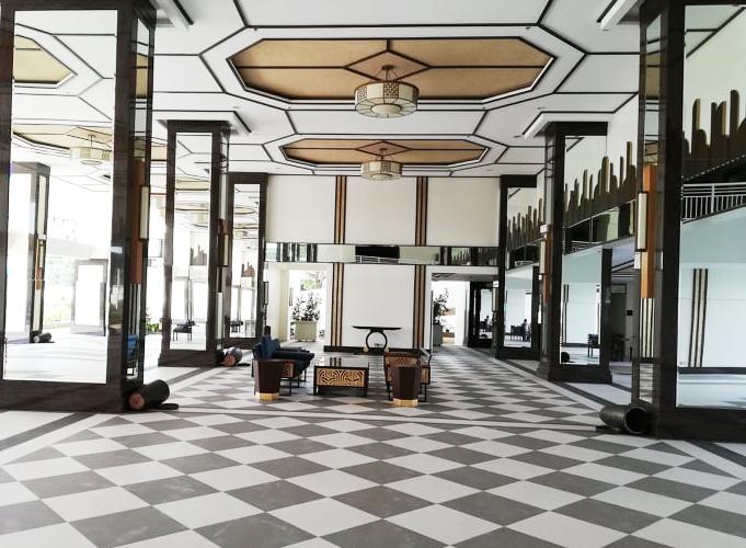 Torre De Manila Lounge Area